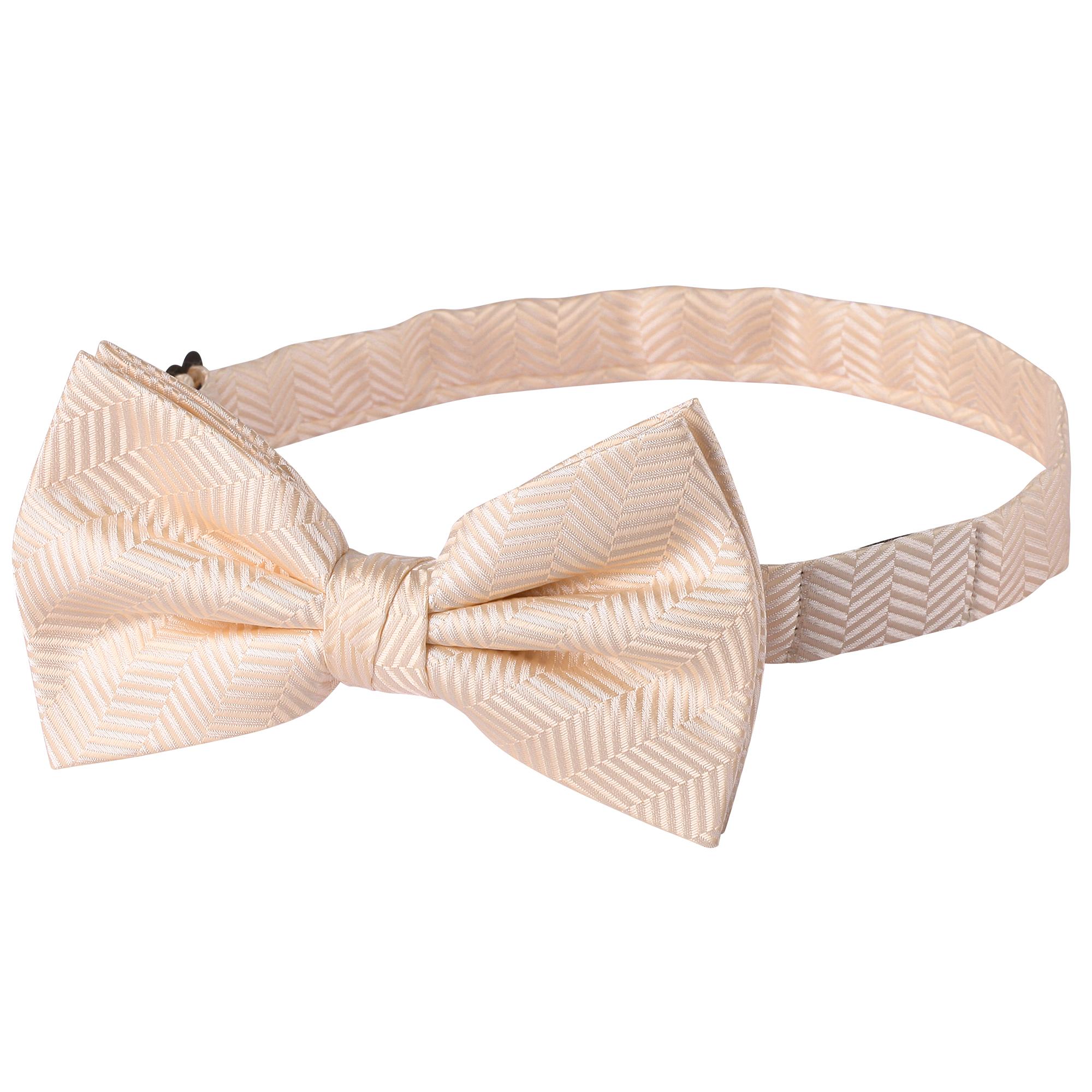 Jacob Alexander Men/'s Tone on Tone Herringbone Pre-Tied Bow Tie