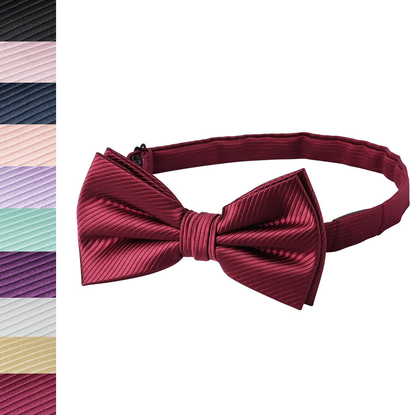 Jacob Alexander Boys 14 Pretied Ready Made Solid Color Zipper Tie Lavender