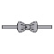 XL Bowtie Pretied Banded