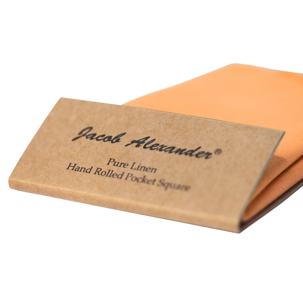 Jacob-Alexander-Linen-Handrolled-15-034-x-15-034-Pocket-Square-Hanky thumbnail 24